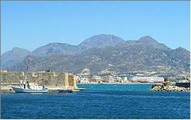 Ierapetra: Die Festung an der Hafeneinfahrt